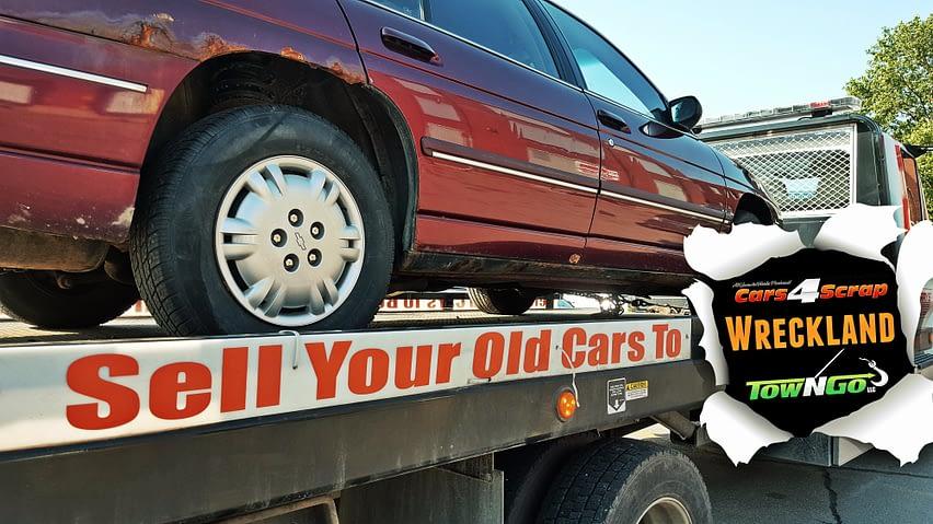 car wreckers Perth - scrap car