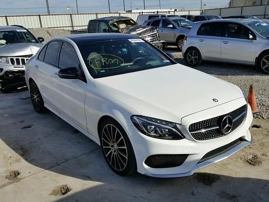 Mercedes salvage Auckland New Zealand